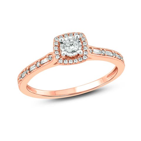 Cali Trove 1/4 cttw Fashion Ring in 10KT Rose Gold