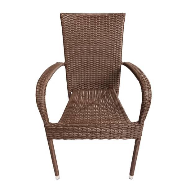 Stackable Outdoor Wicker Chairs