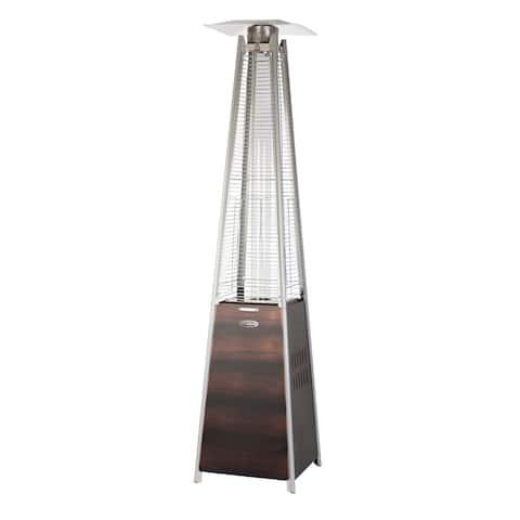 Coronado Brushed Bronze Pyramid Flame Patio Heater - N/A
