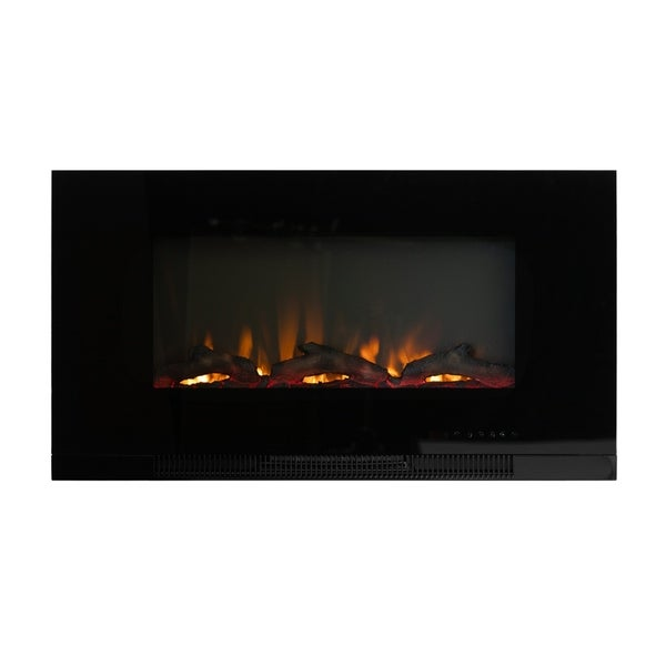"36"" Wall Mount Electric Fireplace"
