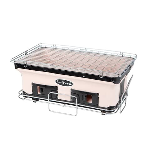 Rectangle Yakatori Charcoal Grill - N/A