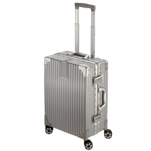 "National Travel Safe 20"" ABS Hard-Side 360° Spinner Luggage"
