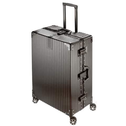 "National Travel Safe 29"" ABS Hard-Side 360-deg Spinner Luggage"