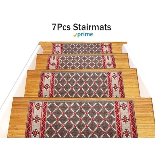 Gloria Rug Stair Treads Non Slip 8 5x26 Gloriastairtread