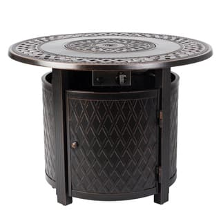 Wagner Round Aluminum Fire Pit - N/A