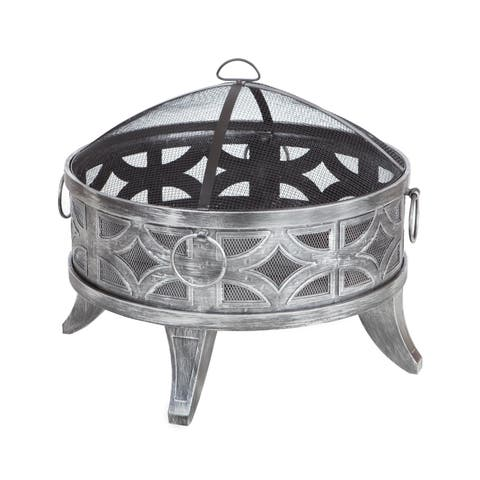 Firenzo Round Fire Pit - N/A