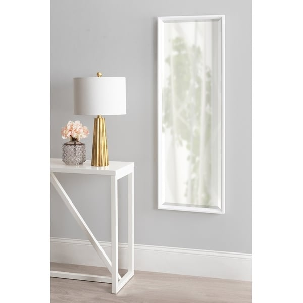Kate and Laurel Calter Full Length Wall Mirror. Opens flyout.