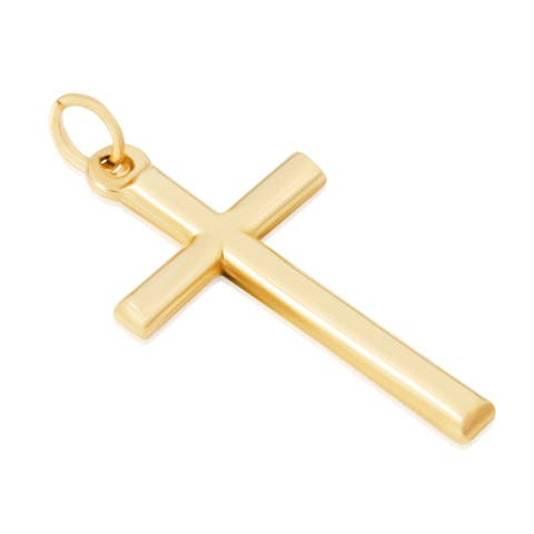 14KT Yellow Gold Religious Cross Pendant / Charm for Women - Available Across Various Exquisite and Inspirational Designs