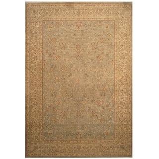 Handmade Vegetable Dye William Morris Wool Rug - 9'9 x 14'