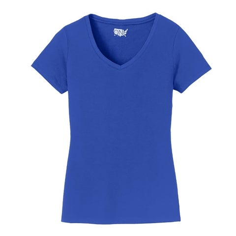One Country United Ladies Short Sleeve V-Neck Tee