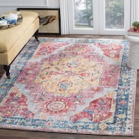 Safavieh Bristol Vintage Oriental Polyester Rug - 7' x 7' Square