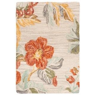 Safavieh Handmade Blossom Modern & Contemporary Floral & Botanical Wool Rug - 2' x 3'