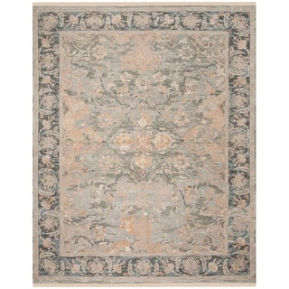Safavieh Couture Hand-knotted Sultanabad Velka Wool Rug with Fringe