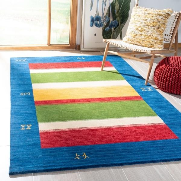 Safavieh Handmade Himalaya Modern & Contemporary Geometric Wool Rug - 5' x 8'