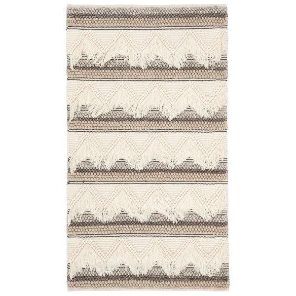 Safavieh Handmade Natura Transitional Geometric Wool Rug - 3' x 5'