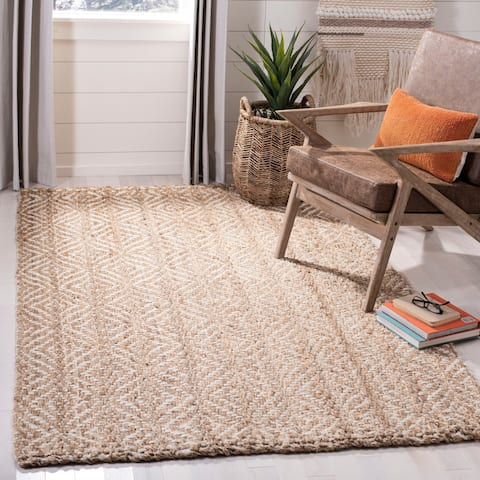 Safavieh Handmade Natural Fiber Casual Diamond Jute Rug