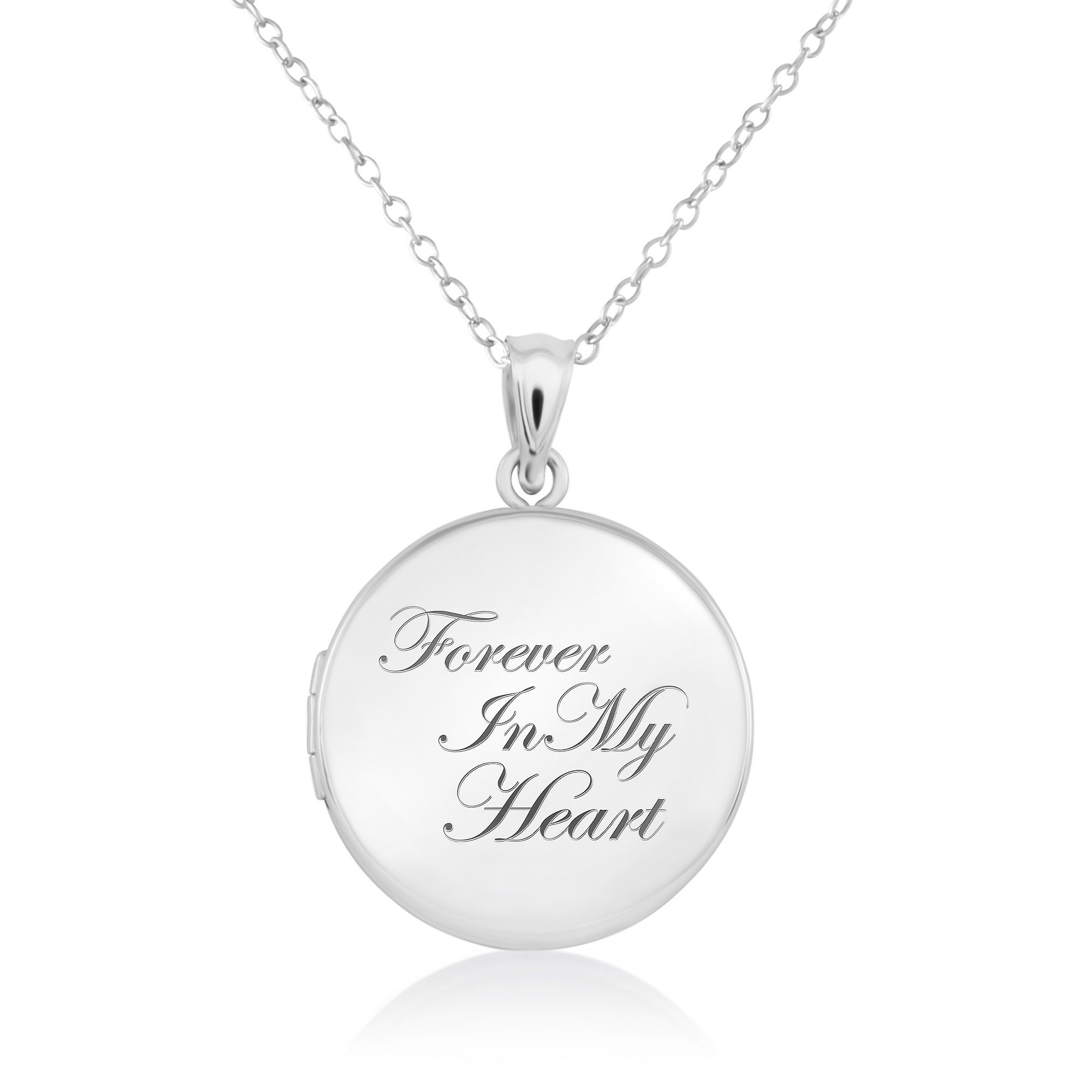 Customized Floating Living Memory Locket Necklace for Women ShineSand Personalized Teardrop//Round//Heart Locket Necklace with 1-7 Charm Birthstones