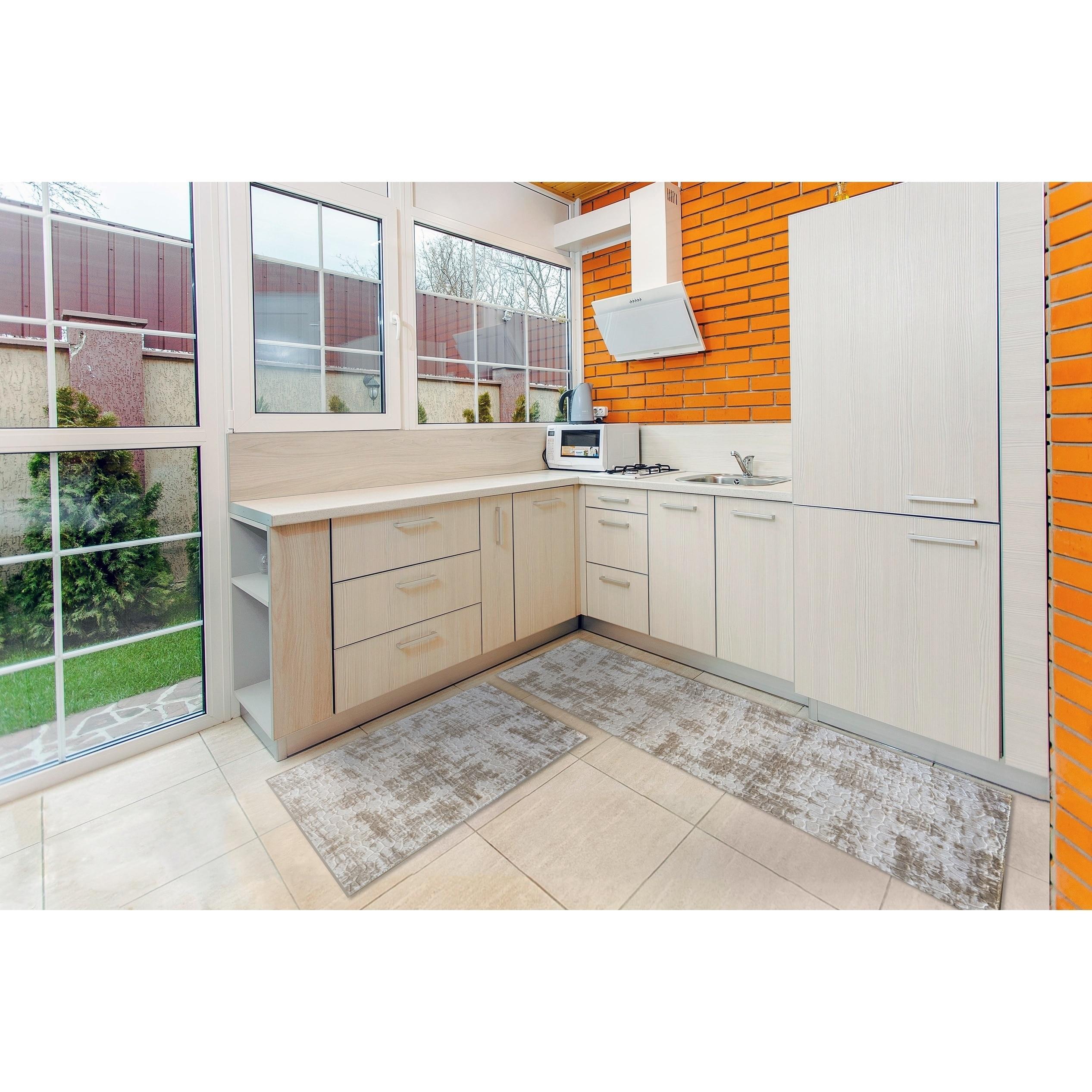 Shop Kitchen 2 Set 16x24 16x47 Newruz Print Bath Mat Absorbent