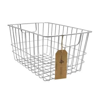 Metal Wire Basket (Set of 2) by Handcrafted 4 Home