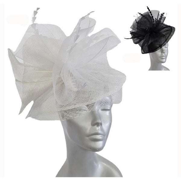 Shop Women's Oversized Bow Fascinator Hat For Wedding