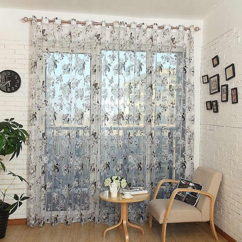 Window Privacy Curtains Sheer Panels, Amsterdam