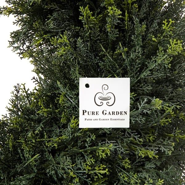 Shop Pre Garden 4 Foot Indoor Outdoor Potted Artificial Cypress