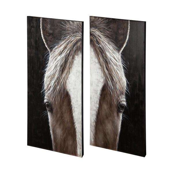 Mercana Equus (Set of 2) Oil Painting