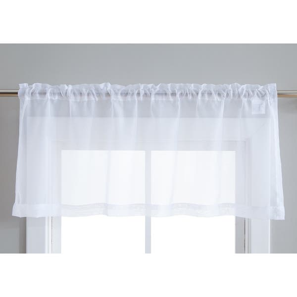 Sheer Voile Window Curtain Panels
