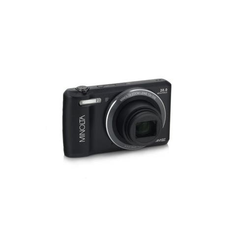 Minolta 20 Mega Pixels Wifi Digital Camera with 12x Optical Zoom & HD Video with 2.7-Inch LCD, Black (MN12Z-BK)