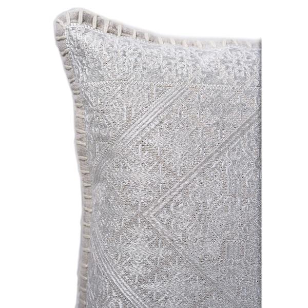 Handmade Indian Dome Art Cotton Decorative Pillow