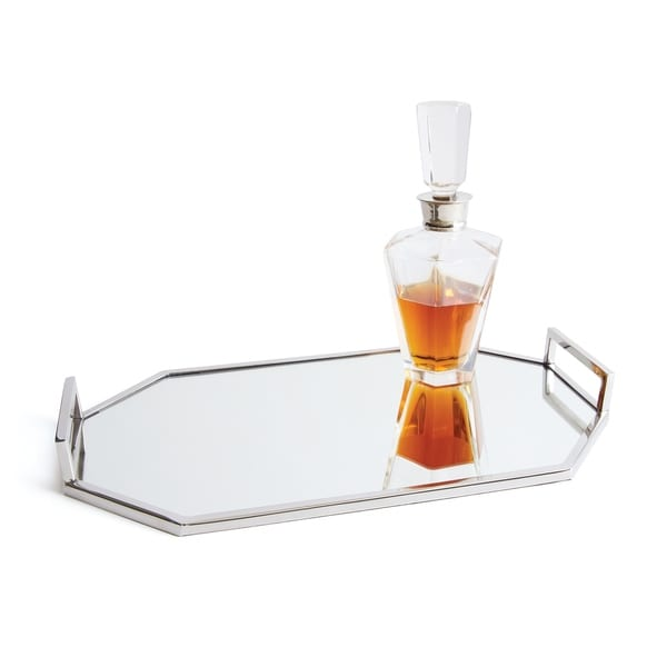 Hip Vintage Anaheim Polished Nickel Handle Tray. Opens flyout.