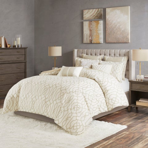 Madison Park Signature Clarity Neutral Comforter Set