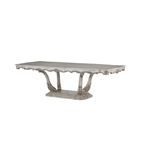 acme-gorsedd-dining-table-in-antique-white by acme