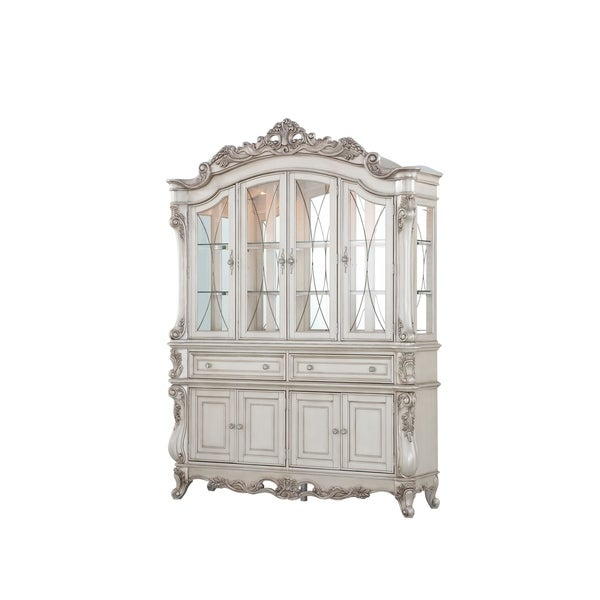 acme-gorsedd-hutch-and-buffet-in-antique-white by acme