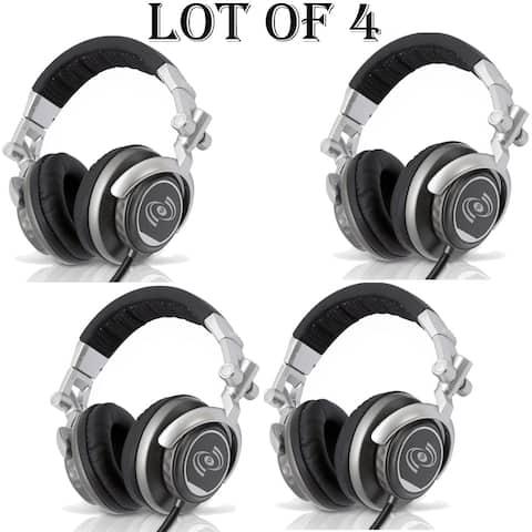 PylePro - LOT OF (4) Professional DJ Turbo Headphones