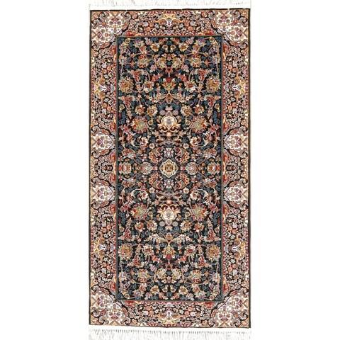 Gracewood Hollow Andruk Floral Wool Blend Area Rug - 6'9 x 3'4