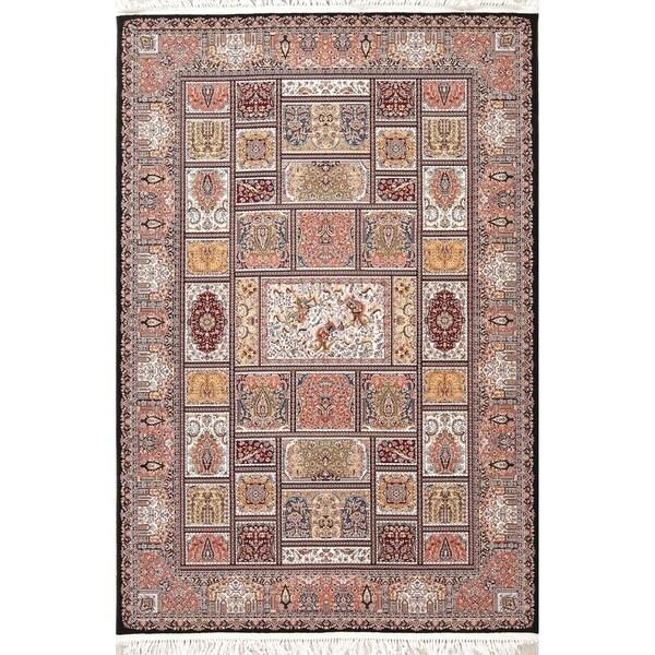 "Copper Grove Assens Geometric Turkish Oriental Wool/Acrylic Area Rug - 7'4"" x 4'11"""
