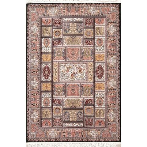 Copper Grove Assens Geometric Turkish Oriental Wool/Acrylic Area Rug - 7'4 x 4'11