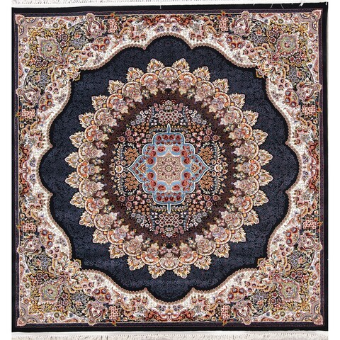 Gracewood Hollow Hutsalo Floral Medallion Wool Blend Area Rug - 13'3 x 9'10