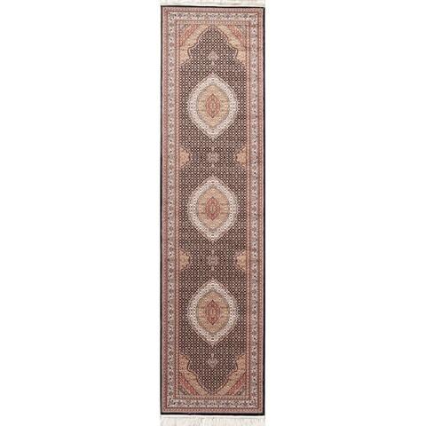 Gracewood Hollow Vahan Geometric Blend Heat Acrylic Heat Set Rug - 13' x 3'4
