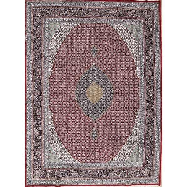 "Copper Grove Lihula Geometric Acrylic/ Wool Area Rug - 12'10"" x 9'5"""
