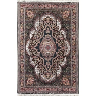 "Gracewood Hollow Irvanets Floral Wool Blend Area Rug - 10'0"" x 6'6"""