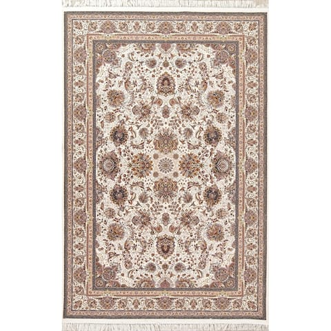 "Gracewood Hollow Davyd Floral Wool Blend Area Rug - 10'0"" x 6'6"""