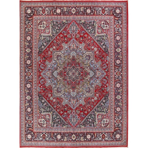 The Curated Nomad Burnside Heriz Persian Acrylic Area Rug - 13' x 9'6