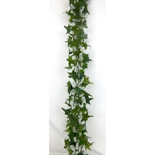 Set of 2 lush and creeping charlie ivy garland