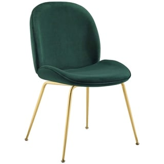 Link to Carson Carrington Hjaggsjon Velvet Dining Chair - N/A Similar Items in Dining Room & Bar Furniture