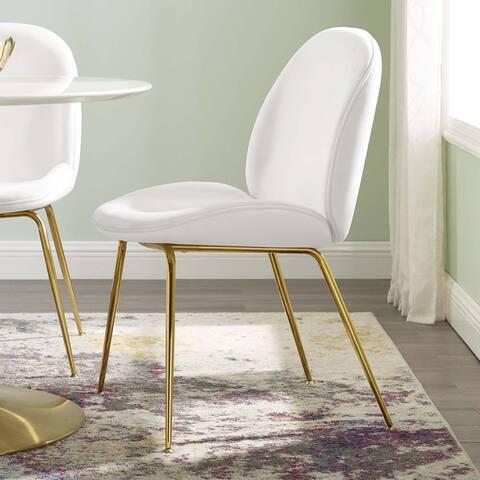 Carson Carrington Hjaggsjon Velvet Dining Chair - N/A