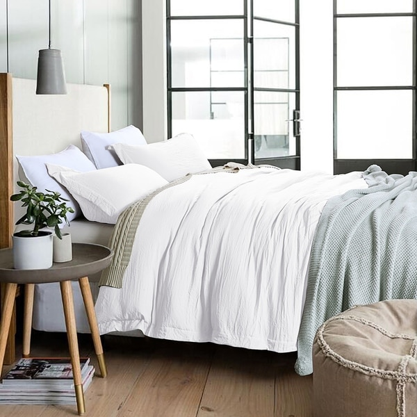 Adrien Lewis Stone Washed Duvet Cover Set. Opens flyout.