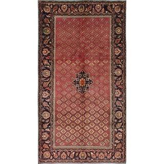 eCarpetGallery  Hand-knotted Bijar Dark Copper Wool Rug - 4'11 x 9'6