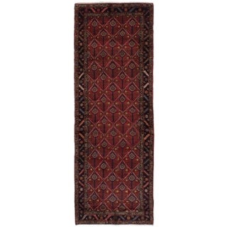 eCarpetGallery  Hand-knotted Koliai Red Wool Rug - 3'1 x 9'3
